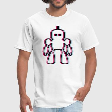 I Robot 3D - Men's T-Shirt