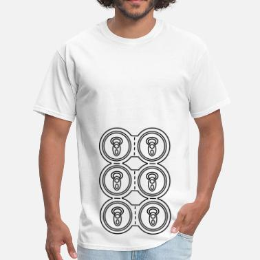 Six Pack Beer Six-pack Cans / Beer - Men's T-Shirt