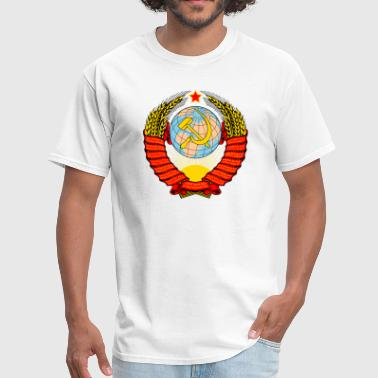 Trotsky Soviet Coat of arms - Men's T-Shirt