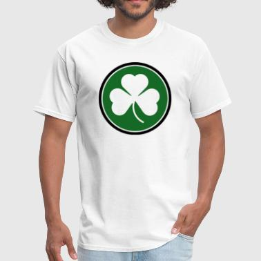 Circle Shamrock Irish Ireland - Men's T-Shirt