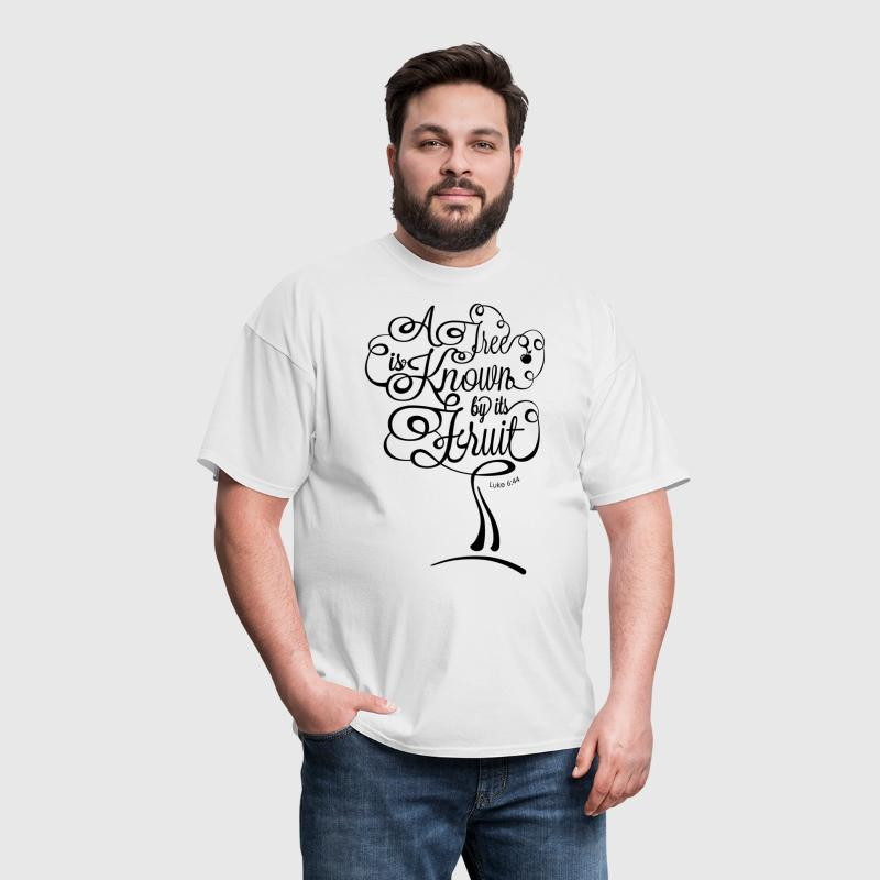 A Tree is Known by its Fruit - Men's T-Shirt