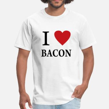 I Love Bacon I Heart Bacon png - Men's T-Shirt