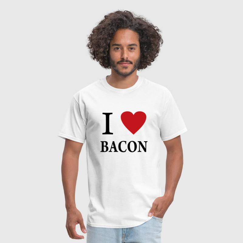 I Heart Bacon png - Men's T-Shirt