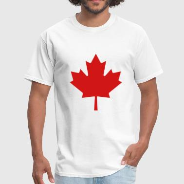 Red Maple Leaf - Men's T-Shirt