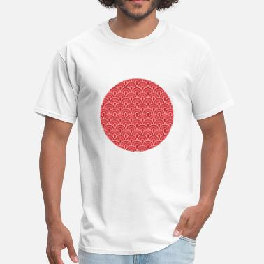 Japanese Flag Wild Stamp - Men's T-Shirt