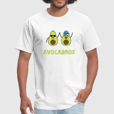 Iconic Duo Avocabros: The Avocado Brothers - Men's T-Shirt