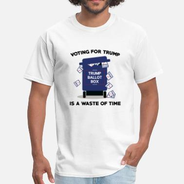 Wasting Time Waste Of Time - Men's T-Shirt