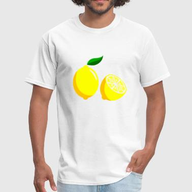 Lemon Sliced Design - Men's T-Shirt