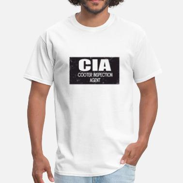 Cooter CIA: Cooter Inspection Agent - Men's T-Shirt