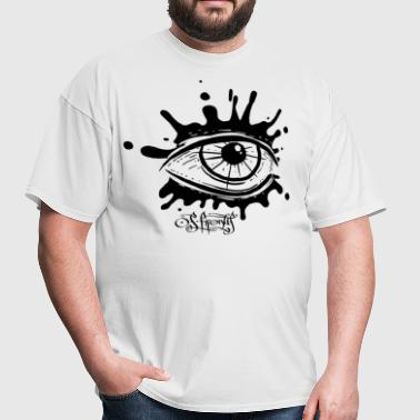 splatter eye - Men's T-Shirt