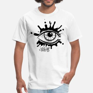 Eyeball splatter eye - Men's T-Shirt