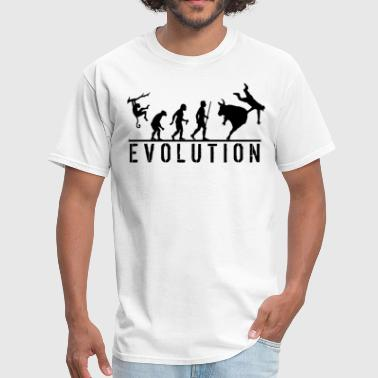 Rodeo Clown Bull Riding Evolution - Men's T-Shirt