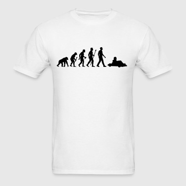Evolution Go Kart Racing - Men's T-Shirt