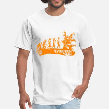 Infested Terran Evolution - orange - Men's T-Shirt