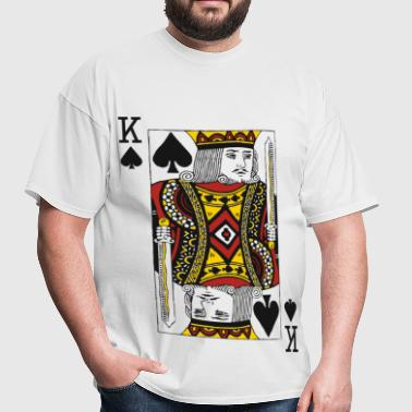 King of Spades - Men's T-Shirt