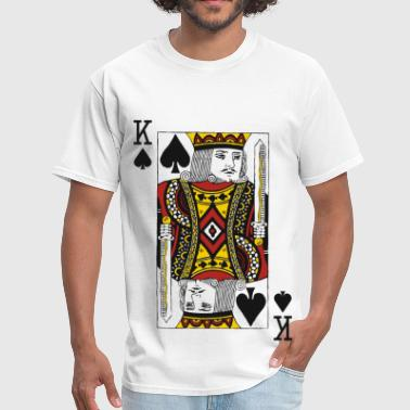 Card King of Spades - Men's T-Shirt