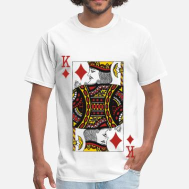 Card King of Diamonds - Men's T-Shirt