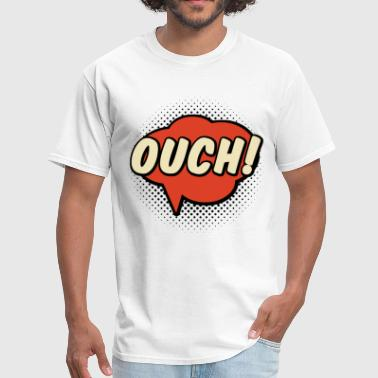 Ouch!! Speech bubble - Men's T-Shirt