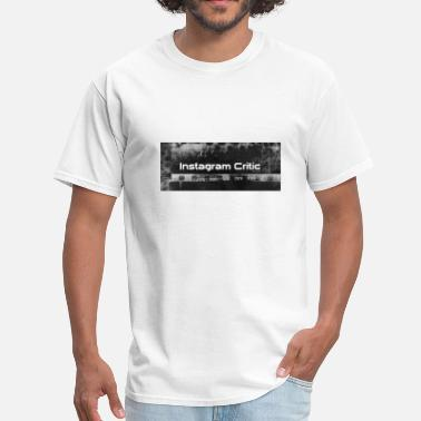 Instagram Art Instagram Critic - Men's T-Shirt