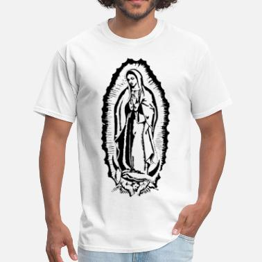 Virgin Mary virgin of guadalupe - Men's T-Shirt