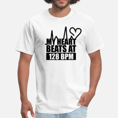 Paul Van Dyk My Heart Beats at 128BPM - Men's T-Shirt