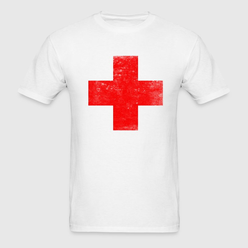 lifeguard_first_aid_red_cross_tees - Men's T-Shirt