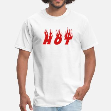 Heat hot - Men's T-Shirt