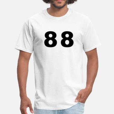 Number 88 Number - 88 - Eighty Eight - Men's T-Shirt
