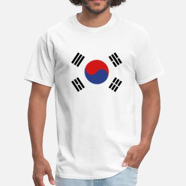 South Korea Flag of South Korea - Men's T-Shirt