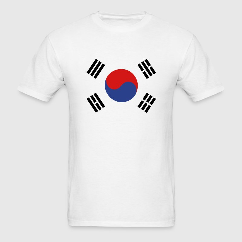 Flag of South Korea - Men's T-Shirt