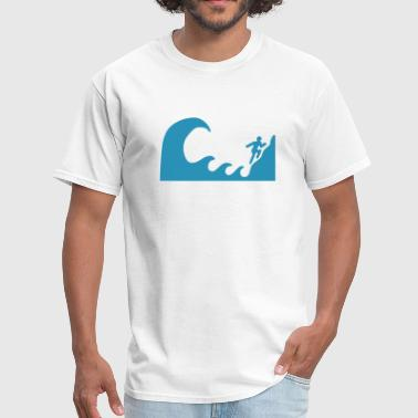 Tsunami Warning - Men's T-Shirt