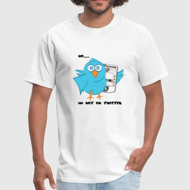 no twitter - Men's T-Shirt