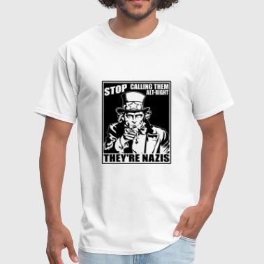 Anti Alt Right - Men's T-Shirt