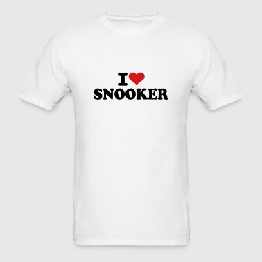 I love Snooker - Men's T-Shirt