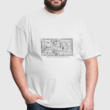 MAYA The tomb of Pakal - Men's T-Shirt