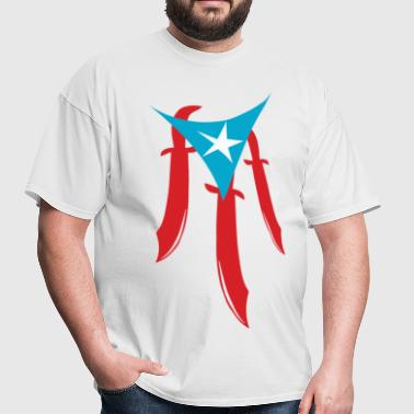 PuertoRico Machete - Men's T-Shirt