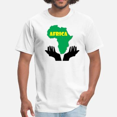 Africa Map Designs Save Africa Map - Men's T-Shirt