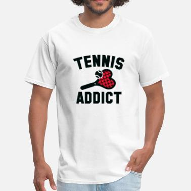 Addicted Tennis Tennis Addict - Men's T-Shirt