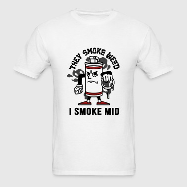 THEY SMOKE WEED I SMOKE MID CS:GO - Men's T-Shirt
