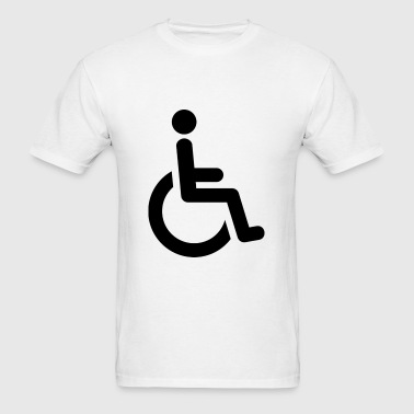 Handicap Sign - Men's T-Shirt
