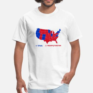 Spy Vs Spy Trumputinstan Map - Men's T-Shirt