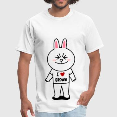 Funny Cartoon 2005321 Cony - Men's T-Shirt