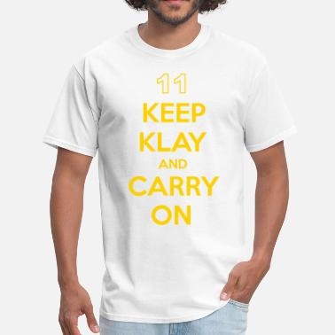 Klay Thompson Keep Klay and Carry On - Men's T-Shirt