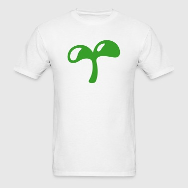Sprouting Baby Plant  - Men's T-Shirt