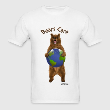 bears care for earth - Men's T-Shirt