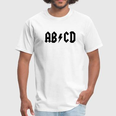 ABCD - AC/DC Style - Men's T-Shirt