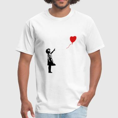 Banksy Banksy ba03 red balloon girl - Men's T-Shirt