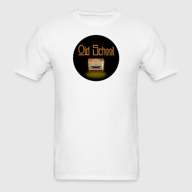 old school radio diner life  - Men's T-Shirt
