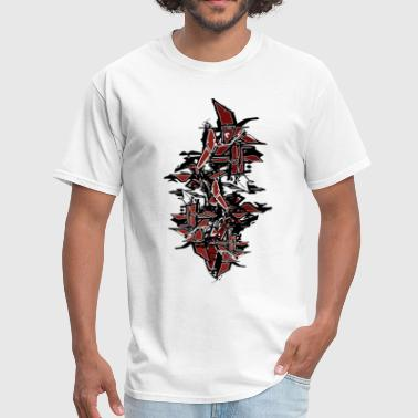 cool Tagged Graffiti - Men's T-Shirt