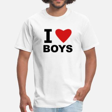I Love White Boys I Love Boys - Men's T-Shirt